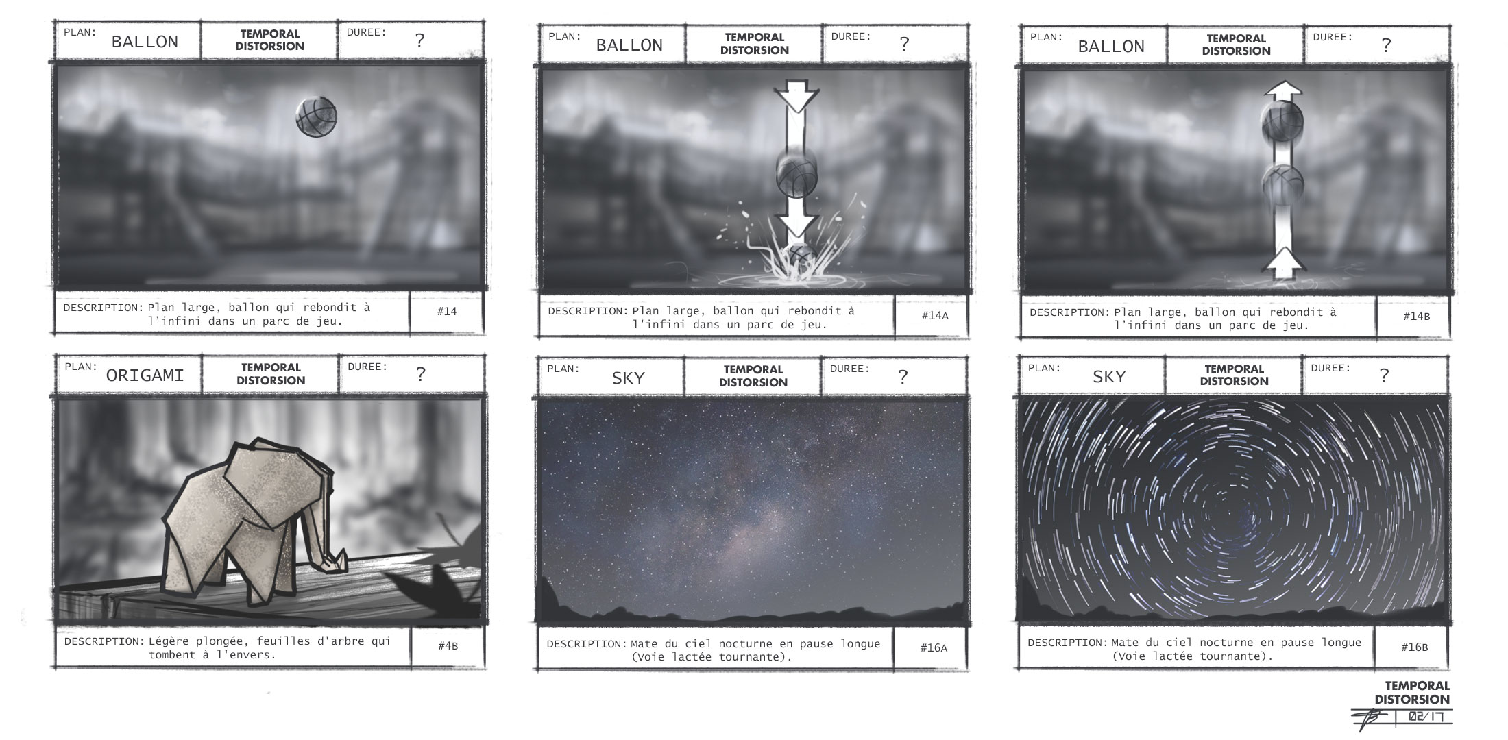 STORYBOARD (Temporal Distortion)